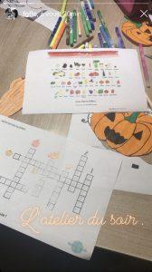 Kit Activités Fruits et Légumes : Octobre et les Courges