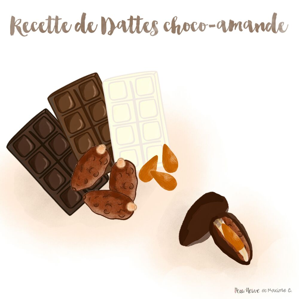 RECETTE DE DATTES (ENCORE PLUS) GOURMANDES