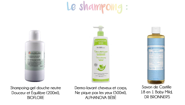 toilette bio shampoing