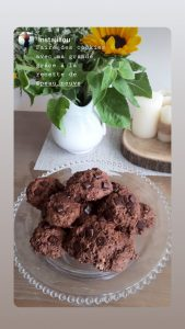Cookies tout choco banane flocons d'avoine