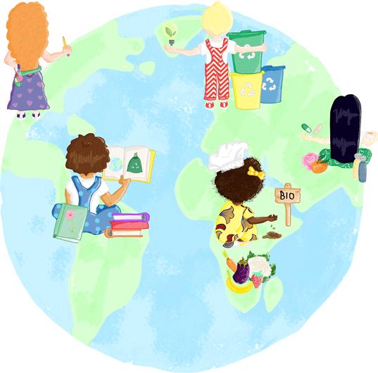 Peau D Enfant L Ecologie Pour Les Enfants