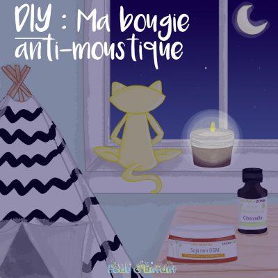 DIY : MA BOUGIE ANTI-MOUSTIQUE